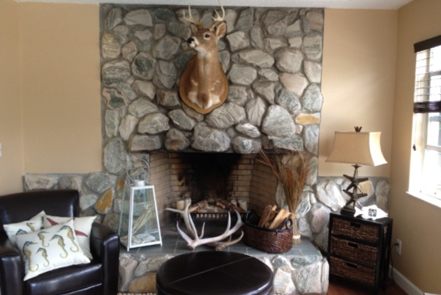Fireplace Revamp Connell Concoctions